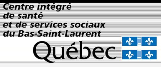 Agences de la Santé et des Services sociaux - Bas-St-Laurent