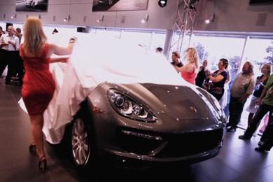 Lancement Porsche Cayenne
